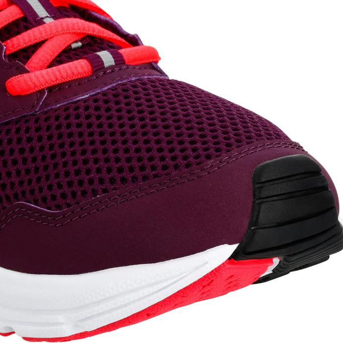 CHAUSSURES JOGGING FEMME RUN ACTIVE BORDEAUX ROSE