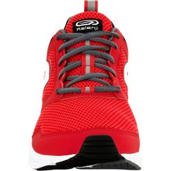 CHAUSSURE JOGGING HOMME RUN ACTIVE ROUGE