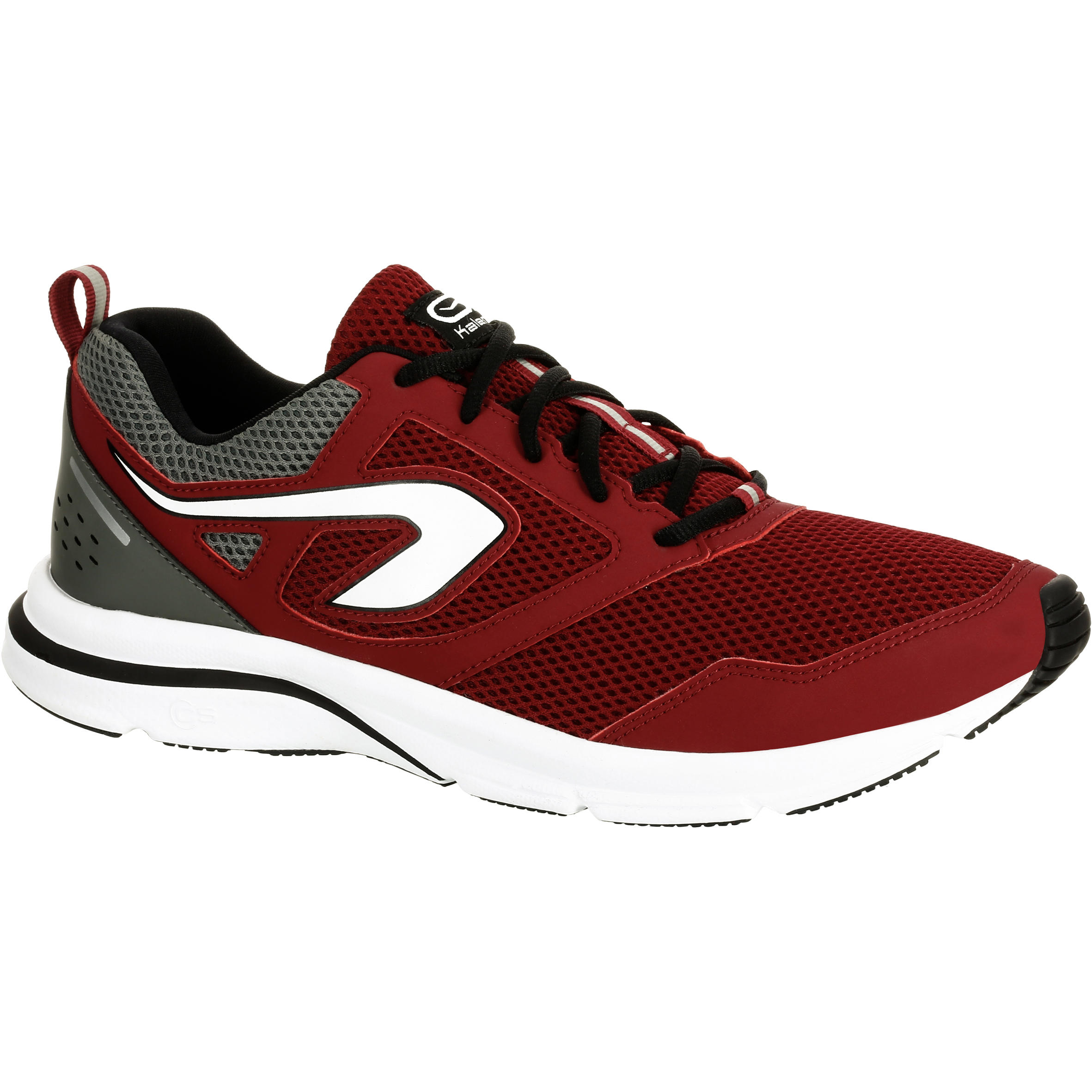 RUN ACTIVE MEN'S RUNNING SHOES BURGUNDY
