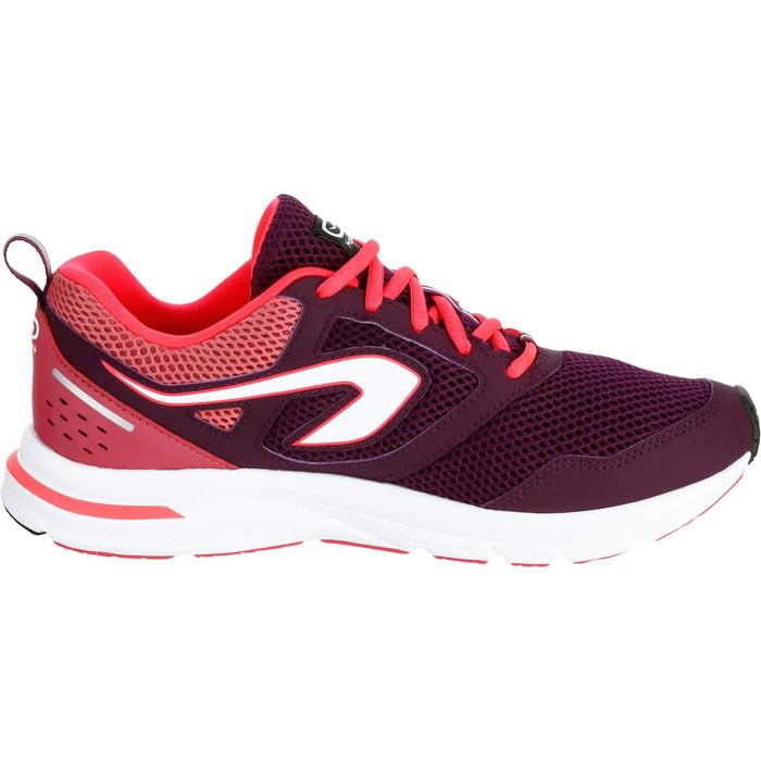 CHAUSSURES JOGGING FEMME RUN ACTIVE CORAIL - 1257479