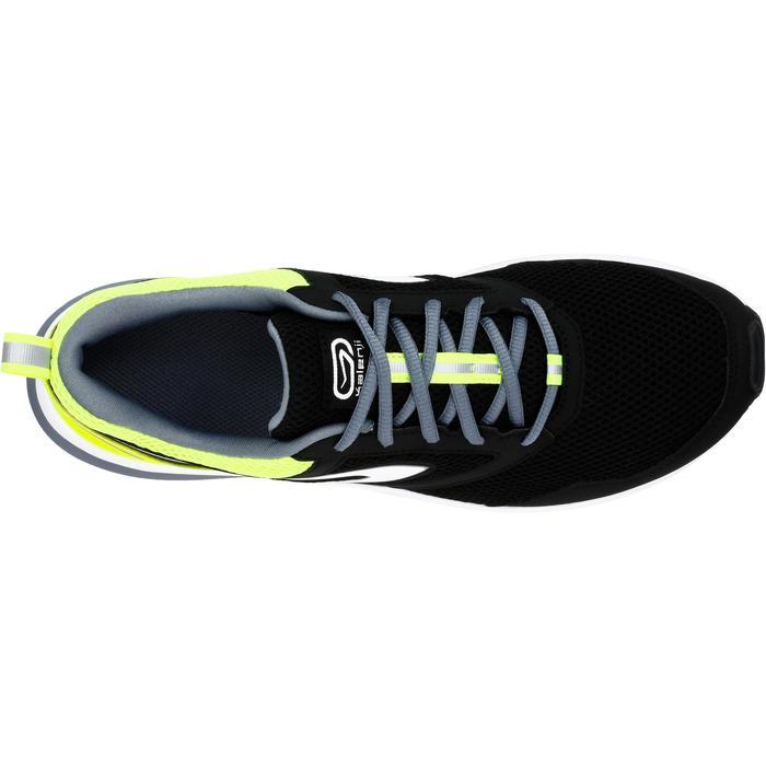 Zapatillas Running Kalenji Run Active Hombre Negro/Amarillo