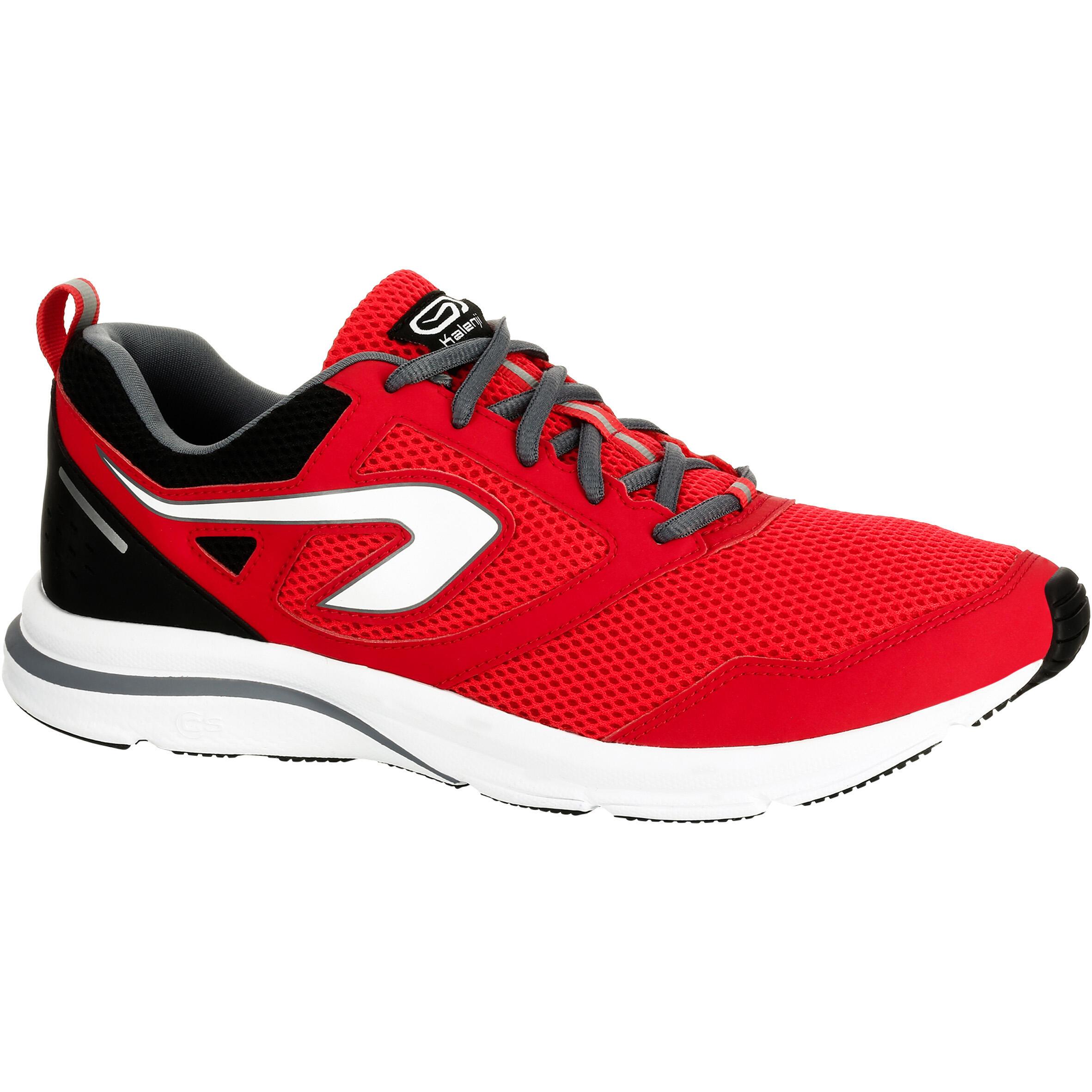 Kalenji Hardloopschoenen voor heren Run Active rood kopen