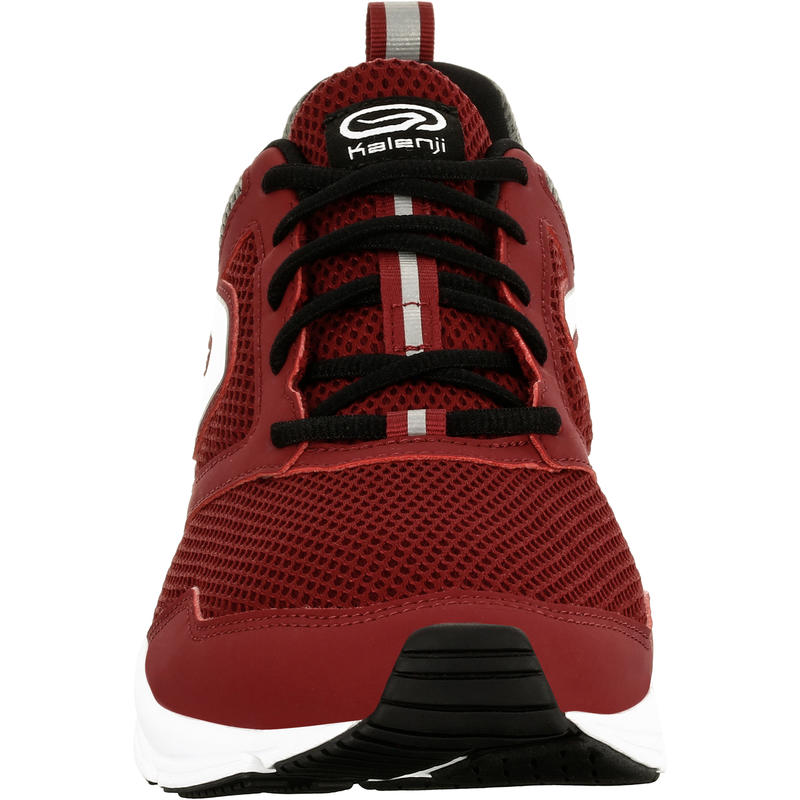 RUN ACTIVE MEN'S RUNNING SHOES - BURGUNDY