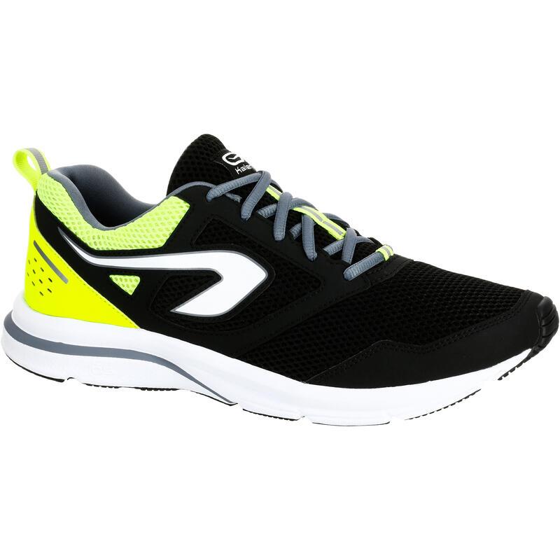 Scarpe running uomo RUN ACTIVE nero-giallo