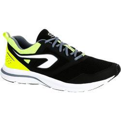 RUN ACTIVE 男士跑步運動鞋 - 黑色/黃色