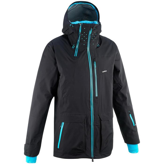 Veste de ski freeride homme free 900 noire - 1257566