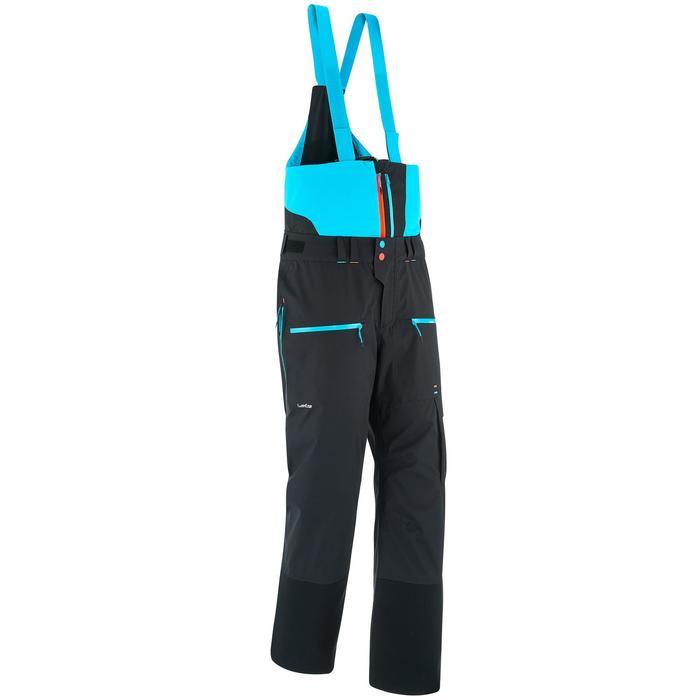 Pantalon de ski freeride homme free 900 noir - 1257568
