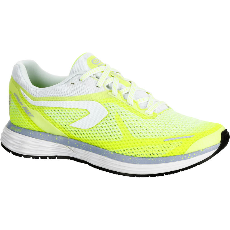 88ba021568a Kalenji Kiprun Fast Women s Running Shoes - Yellow White