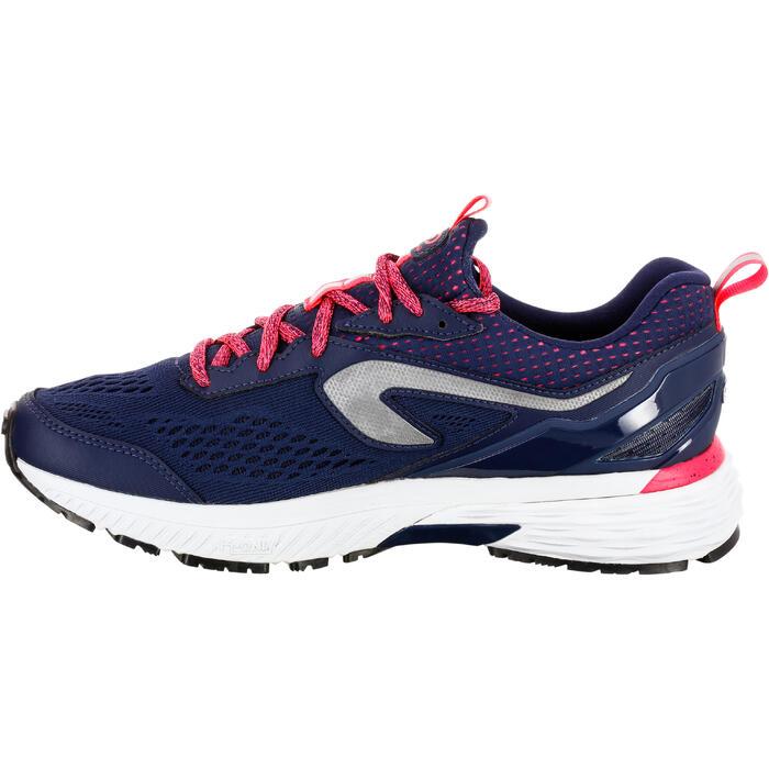 Zapatillas Running Kalenji Kiprun Long Plume Mujer Azul Marino/Rosa Coral