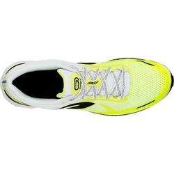 Zapatillas Running Kalenji Kiprun Fast Hombre Amarillo Límon/Negro