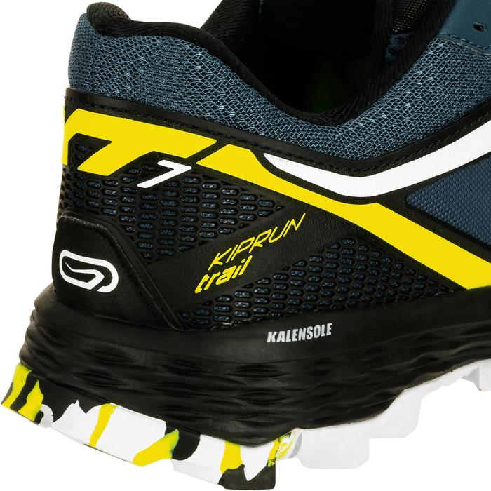 Laufschuhe Trail Kiprun XT 7 Herren blau/gelb