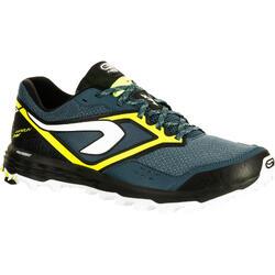 Trailschoenen voor heren Kiprun Trail XT 7 blauw geel