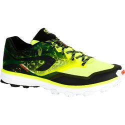 Trailschoenen voor heren Kiprace Trail 4 geel zwart