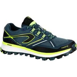 KIPRUN TRAIL MT MEN'S TRAIL RUNNING SHOES - BLUE YELLOW