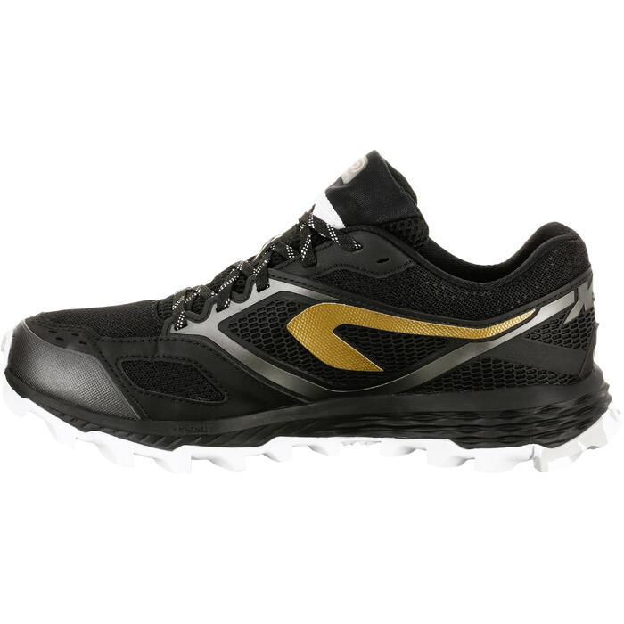 Laufschuhe Trail Kiprun XT7 Damen schwarz/bronzefarben