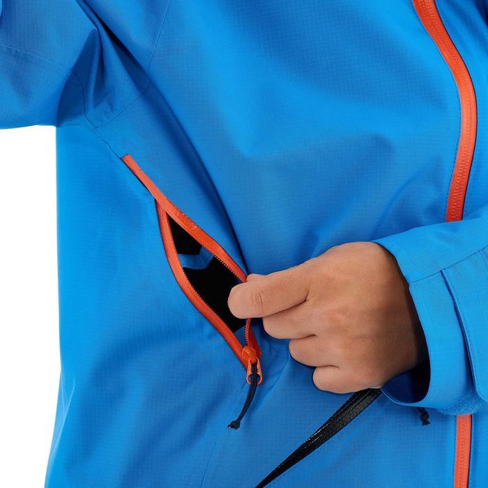 Chaqueta de senderismo júnior Hike 900 azul