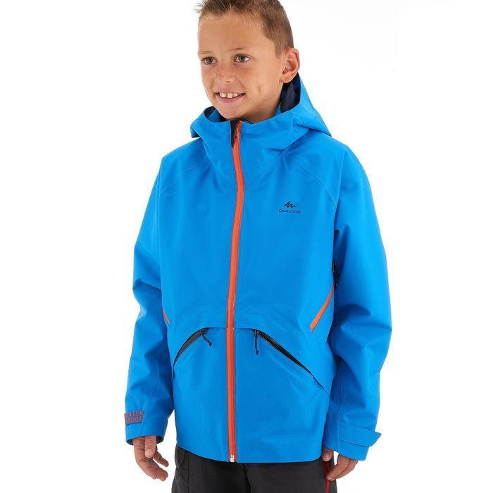 Veste de randonnée enfant Hike 900 bleue - 1257796