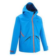Svetlo modra pohodniška jakna MH550 za otroke