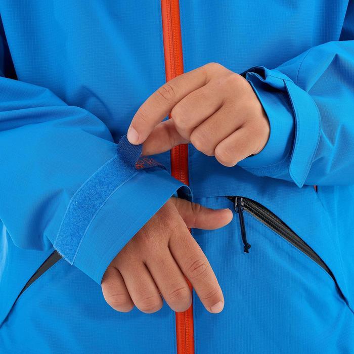 Chaqueta de senderismo júnior MH550 azul