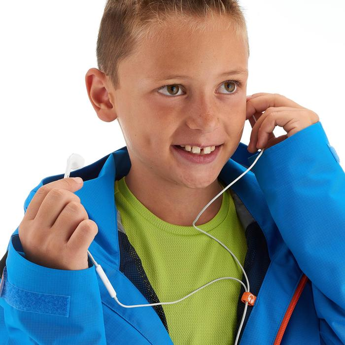 Wanderjacke Hike 900 Kinder Jungen blau