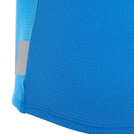 Camiseta de senderismo júnior MH550 azul