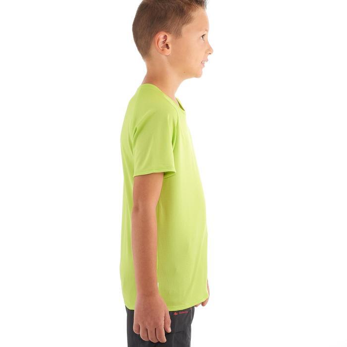CAMISETA de senderismo niños Hike 100 verde
