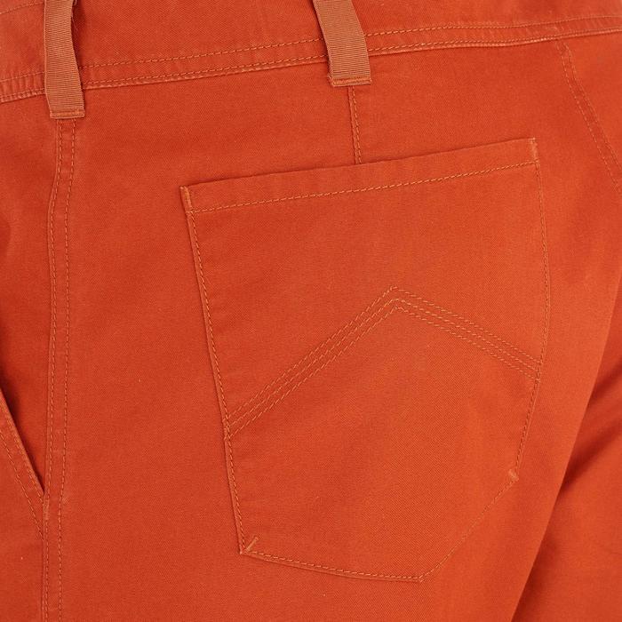 Pantalón corto de senderismo en la naturaleza hombre NH500 teja