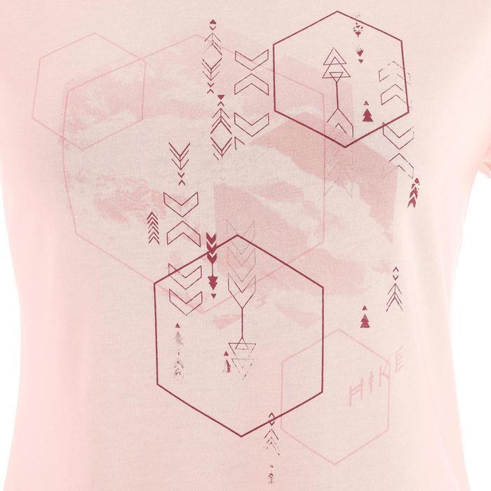 Wandelshirt voor dames NH500 roze