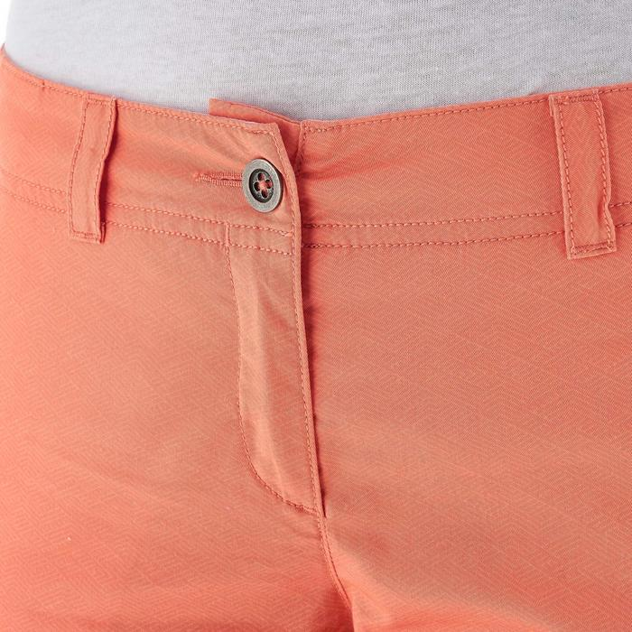 Pantalon randonnée nature femme NH500 orange