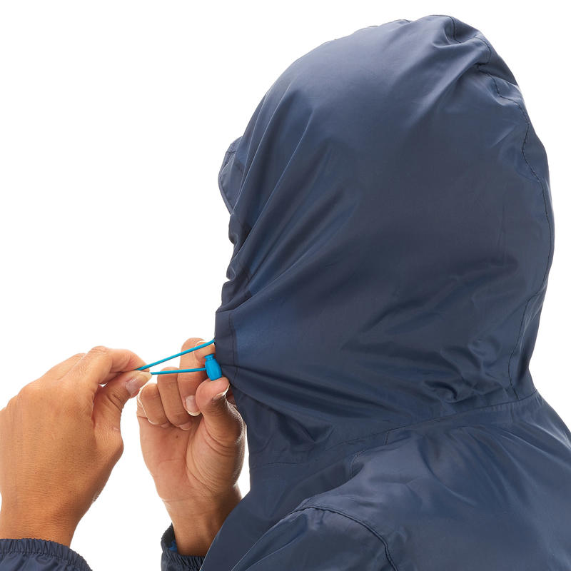 Women's Raincoat (Full Zip) - Navy