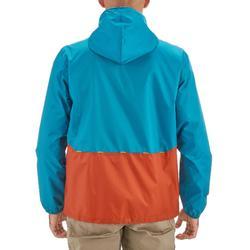 Chaqueta Impermeable Montaña y Senderismo NH100 Raincut Hombre Naranja