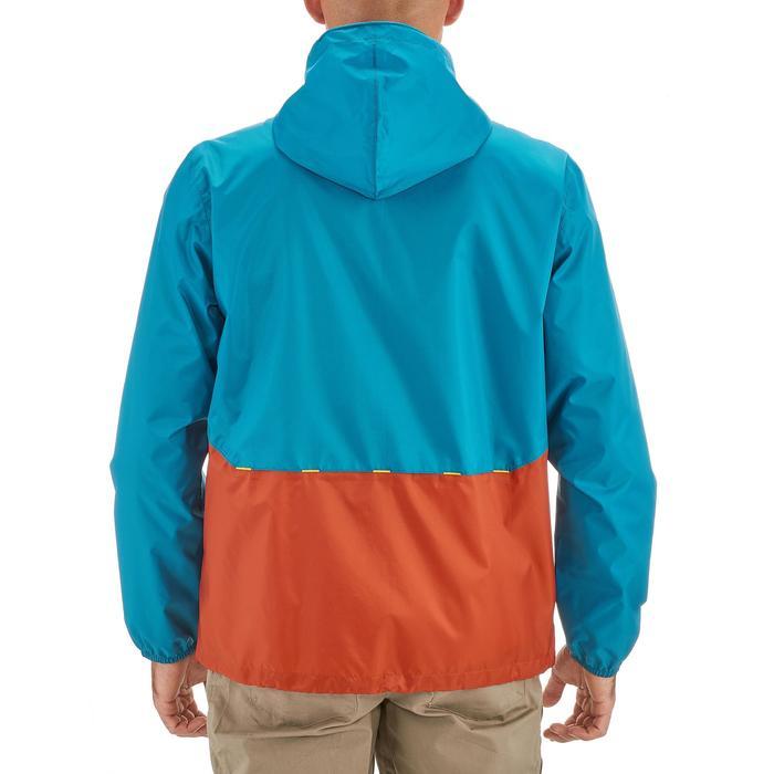 Coupe pluie Imperméable randonnée nature homme Raincut zip marine - 1257882