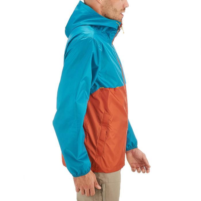 Coupe pluie Imperméable randonnée nature homme Raincut zip marine - 1257908