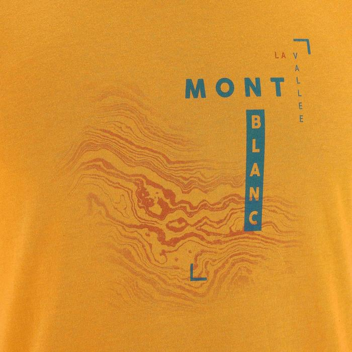 Tee shirt randonnée nature homme NH500 chiné - 1257910