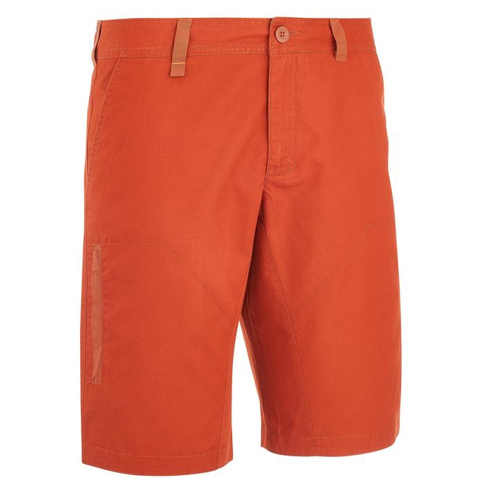 Wandelshort NH500 baksteenrood heren