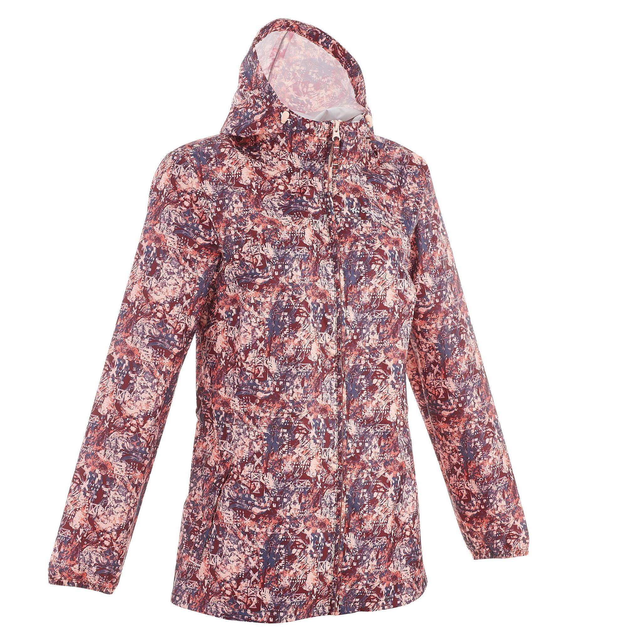 Women's Raincut Zip waterproof nature hiking rain jacket ...