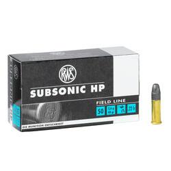 Balle 22 Long Rifle Subsonic HP RWS