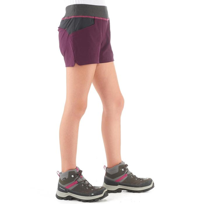 Short de randonnée enfant MH500 Prune