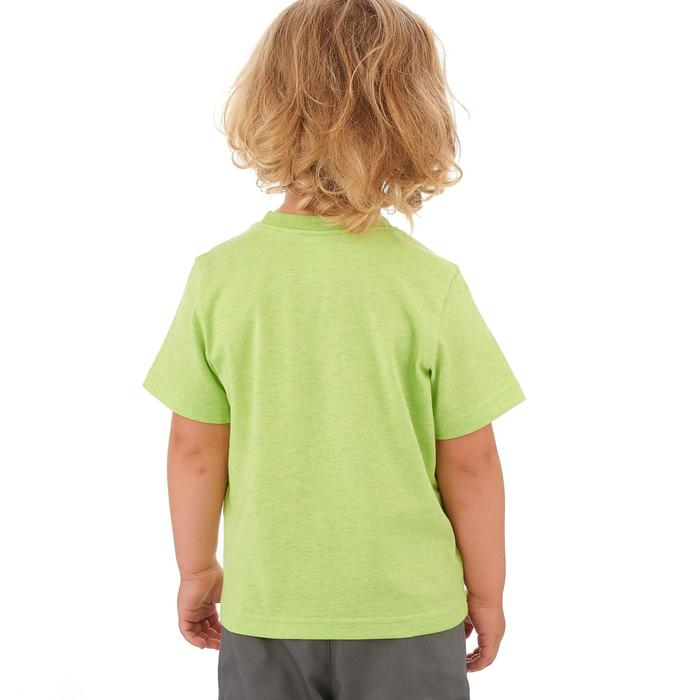 Hike 500 Children's Boy's Hiking T-Shirt – Blue - 1258174
