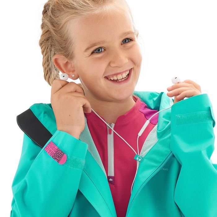 Veste de randonnée enfant MH550 Turquoise
