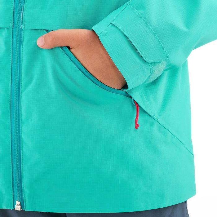 Veste de randonnée enfant Hike 900 bleue - 1258181