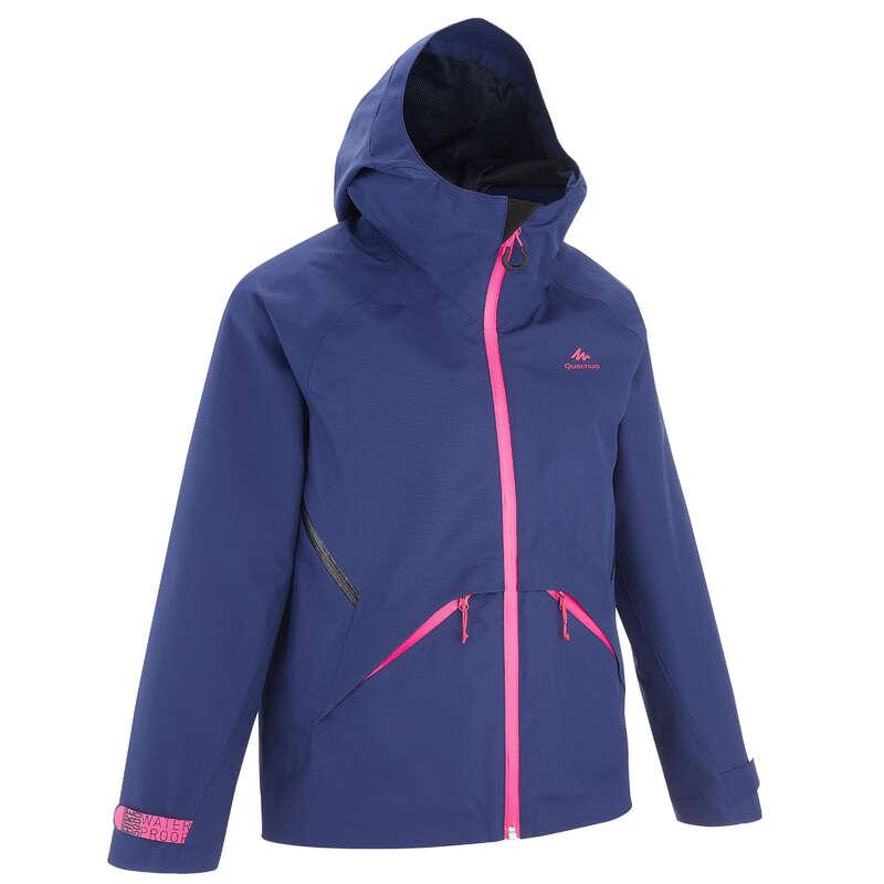 Fiú kabát, esőnadrág 7-15 év Túrázás - Gyerek kabát MH550 QUECHUA - Gyerek túraruházat