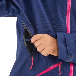 兒童款健行外套MH550-紫色