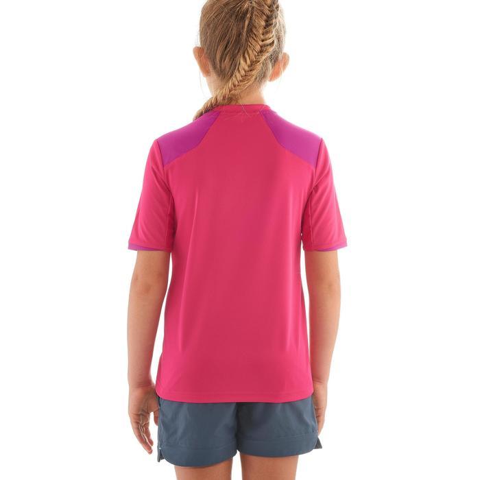 Wandershirt Hike 900 Kinder Mädchen rosa