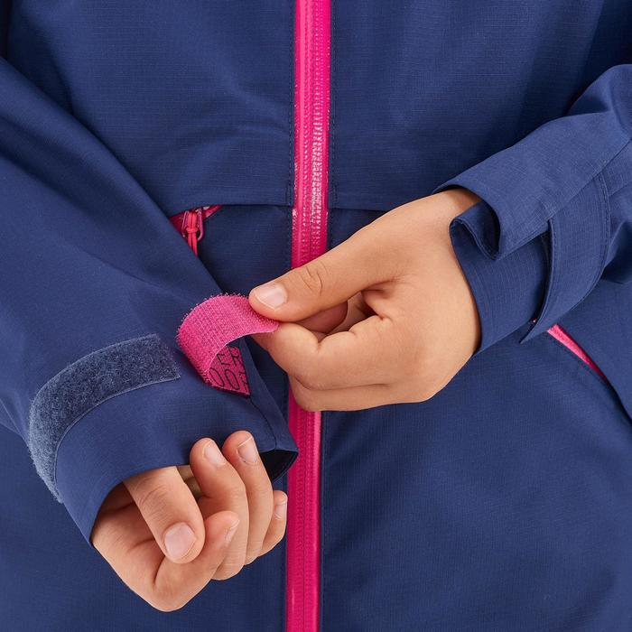 Wanderjacke Hike 900 Kinder Mädchen violett