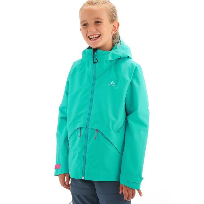 Veste de randonnée enfant Hike 900 bleue - 1258191