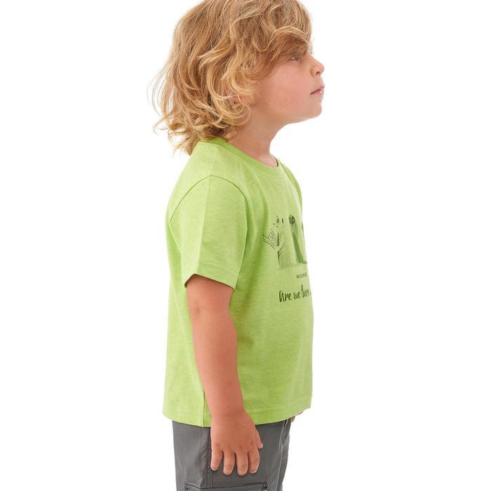 CAMISETA de senderismo niños Hike 500 verde