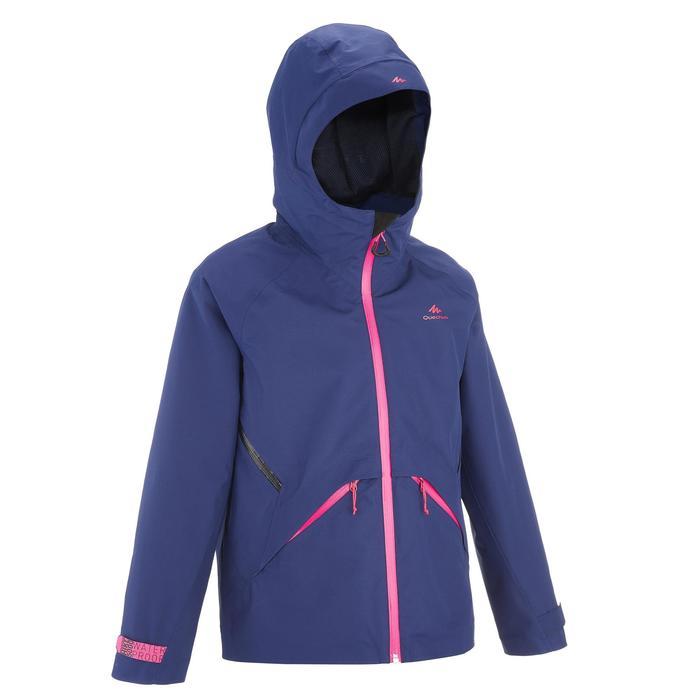 Veste de randonnée enfant Hike 900 bleue - 1258193