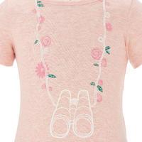 Hike 500 Children's Hiking T-shirt - Pink