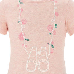 Hike 500 Children's Hiking T-shirt - Pink